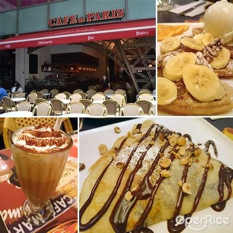 Café de Paris, Pavilion, Crepes, Chocolate, KL