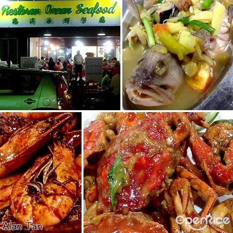 海洋, 海鲜餐厅, ocean, seafood restaurant, bandar puteri puchong
