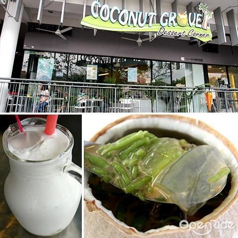 coconut grove, 椰子冻, bandar utama, pj, cendol