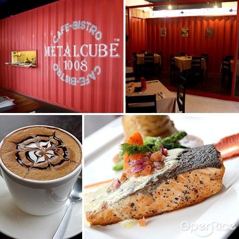 kepong, cafe, menjalara, metalcube 1008, container cafe