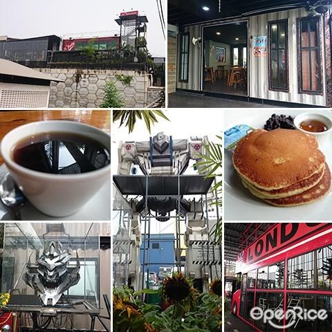 Le Gardenz Cafe, Kawasan Perindustrian Belakong, Seri Kembangan, Industrial Cafe