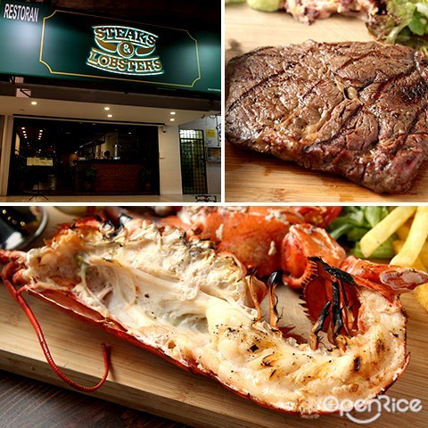 steaks & lobsters, sri hartamas, kl, lobster