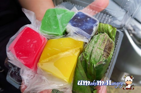 A box of Assorted Kuih